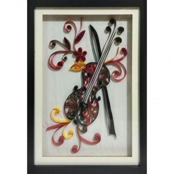 Guitar Quilling Frame