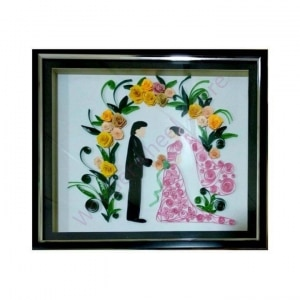 Wedding Quilling Frame