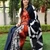 Cotton Baatik Printed Saree