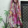 Cotton Shuit With Chiffon Dupatta