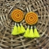 Elongated Chand-Baali Earrings