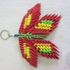 Origami Minion Keychain