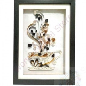 Coffee Mug Quilling Frame