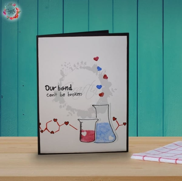 Love Potion Handmade Card