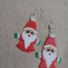 Beads Santa Claus Earrings