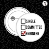 I'm A Programmer I Write Code – Round Shaped Badge