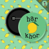 Gryffindor Round Shaped Badge