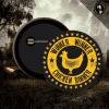 Caution Extreme Sanskari Round Shaped Badge