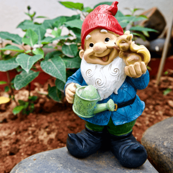 Iscg001 Gnome Standing Elf Small Side