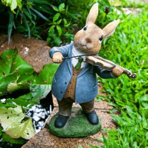 Iscg010 Violin Rabbit