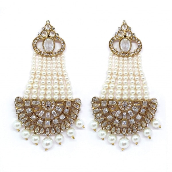 E082w Jenifer – Earrings. Bracelets. Rings. Necklaces. Hand Harness. Maang Tikkas. Nose Pins