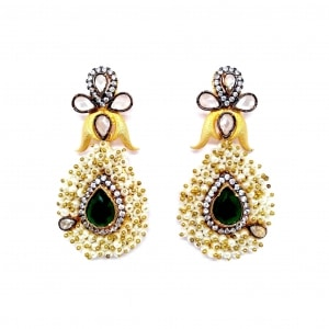 E174gr Meenakshi – Earrings. Bracelets. Rings. Necklaces. Hand Harness. Maang Tikkas. Nose Pins. .jpgjpg