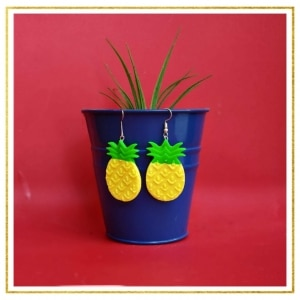 Quirky Pineapple Earrings