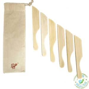 Bamboo Knives With Logo