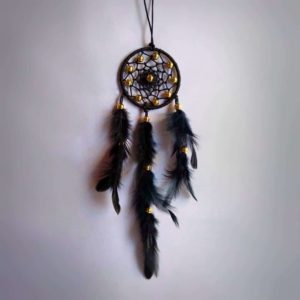 Black Web Dreamcatcher