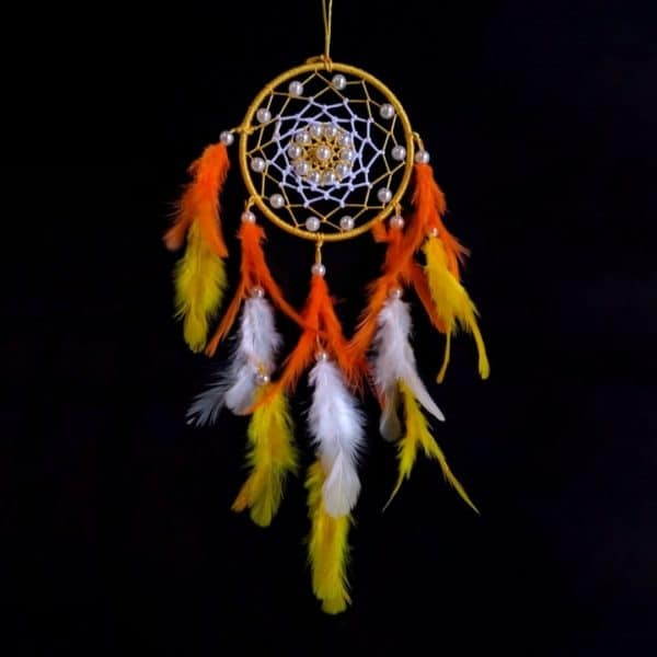 Firing Yellow Dreamcatcher