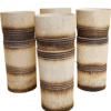 Hand-Crafted Bamboo Tumbler (Engraved Design)- Set of 2