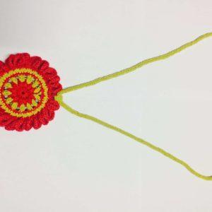 Marigold Hand Crocheted Statement Neckpiece