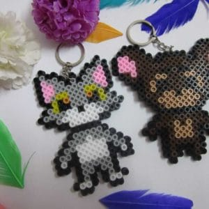 Tom And Jerry Pair Keychain