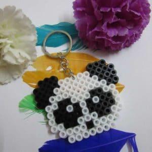 Handmade Panda Keychain