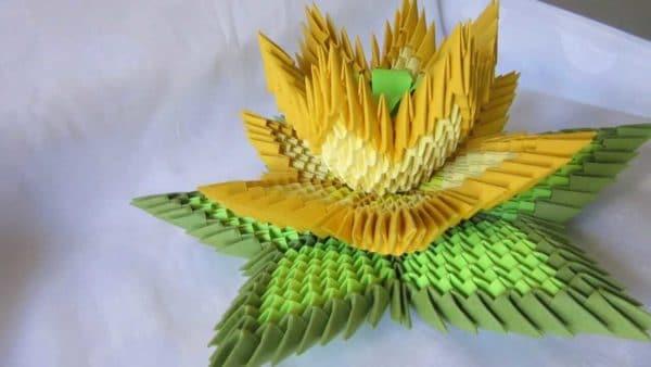 Handmade Origami Lotus