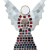 Mosaic Winged Angel Wall Art