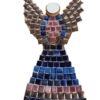 Mosaic Winged Angel Wall Art