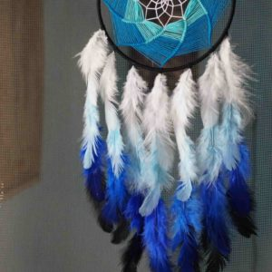 Wonderwheelstore | 31 | Dazzling Blue Dreamcatcher Min