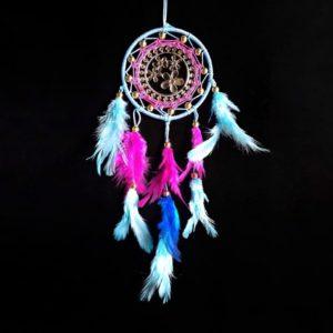 Wonderwheelstore | 01 | Icy Blue Pink Dreamcatcher