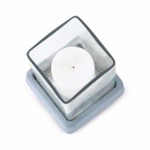 Wonderwheelstore   03   Cancon Concrete Handmade Candle Stand Gmac009 3