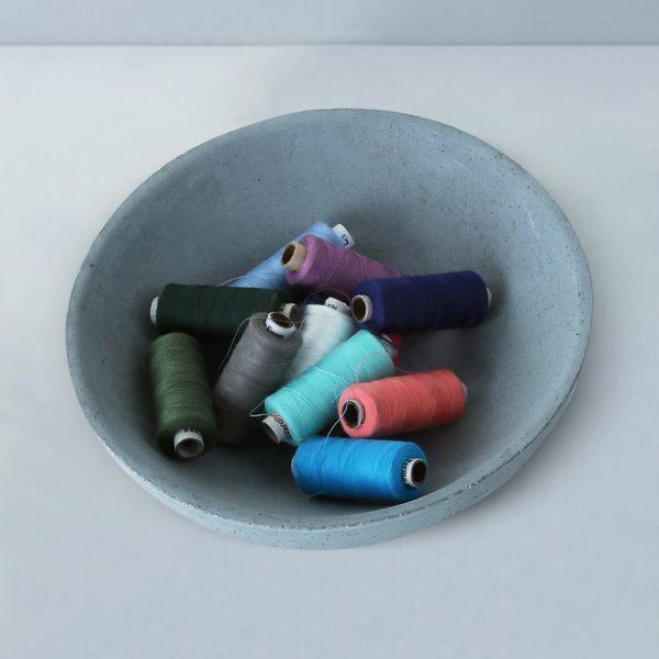 Wonderwheelstore | 03 | Tasla Concrete Handmade Small Bowl Gmac007 3