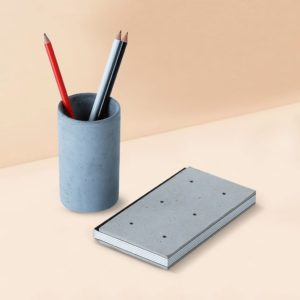 Wonderwheelstore | 04 | Concrete Costand Round Stationary Organizer Gmac020 1