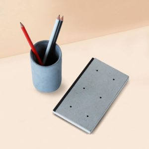 Wonderwheelstore | 04 | Concrete Costand Round Stationary Organizer Gmac020 2