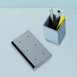 Wonderwheelstore | 04 | Concrete Costand Square Stationary Organizer Gmac021 2