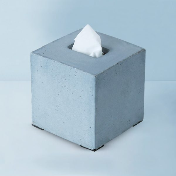 Wonderwheelstore | 04 | Concrete Square Tisco Tissue Holder Gmbr003 1