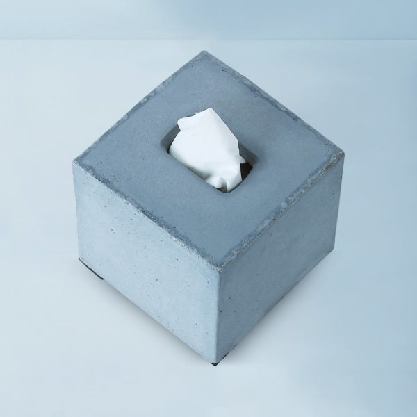 Wonderwheelstore | 04 | Concrete Square Tisco Tissue Holder Gmbr003 3