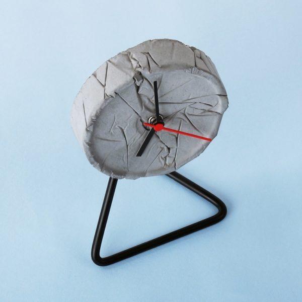 Wonderwheelstore | 05 | Concrete Crinkled Twistick Clock Gmle002 2