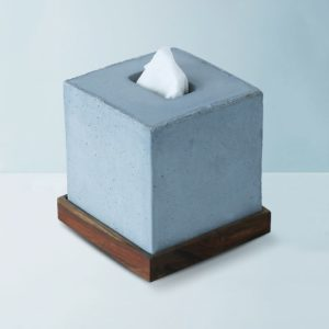 Wonderwheelstore | 05 | Concrete Tisco Square Tissue Holder Gmbr003w 1