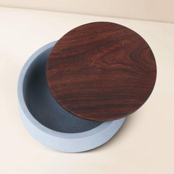 Wonderwheelstore   05   Wood & Concrete Mesa Round Tray Gmor007w 3