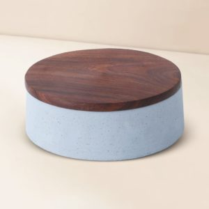 Wonderwheelstore | 05 | Wood & Concrete Mesa Round Tray Gmor007w 4