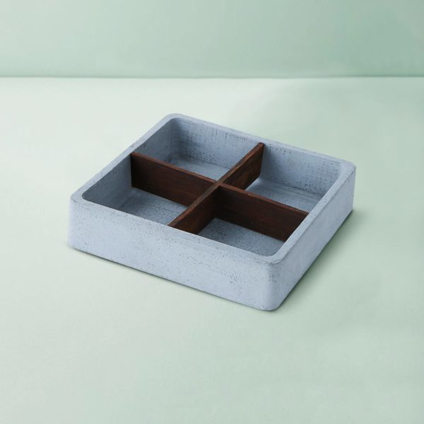 Wonderwheelstore | 05 | Wood & Concrete Mesa Square Tray Gmor014w 2