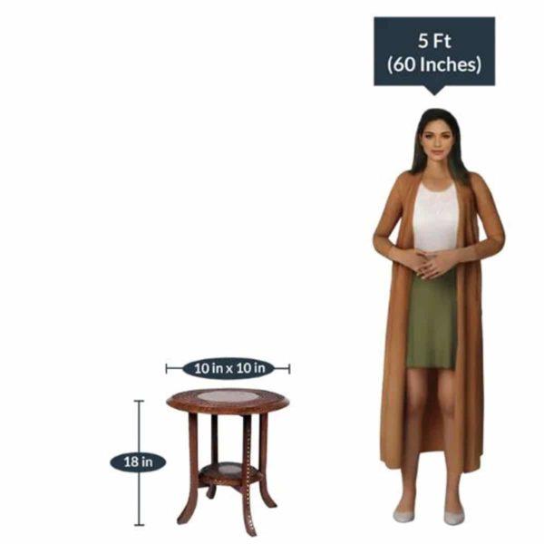 Wonderwheelstore | 18 | Double Top Rosewood Table Size