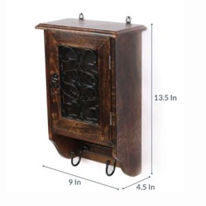 Wonderwheelstore | 18 | Wooden Key Almirah Big Size