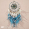 Pretty Pink White Dreamcatcher
