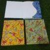 Jaipuri Block Printed Diary & Amp; Folder – Blue