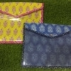 Jaipuri Block Printing Folders – Navy