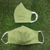Set of 2 Printed Cotton Masks – Mix color and Mint Green Masks