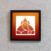 Shiva on Ice Stencil Frame