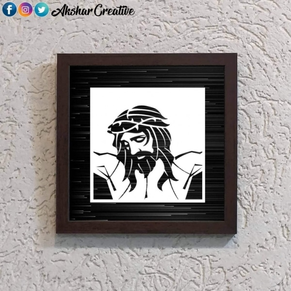 Wonderwheelstore | 25 | Acessf012 Jesus Stencil Frame