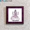 Krishna with Cow Stencil Frame